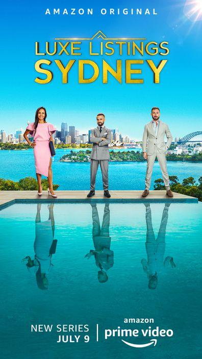 Luxe Listings Sydney, Amazon Prine Video, reality TV show, Gavin Rubinstein, D'Leanne Lewis, Simon Cohen