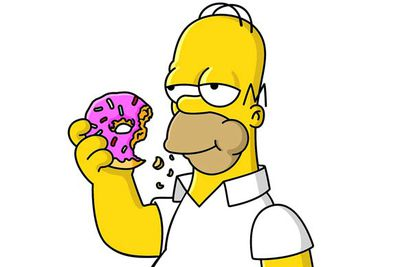 Mmm... everything. Homer's appetite is legendary: when he was once condemned to hell he consumed all the doughnuts in the world and <i>still</i> wanted more.