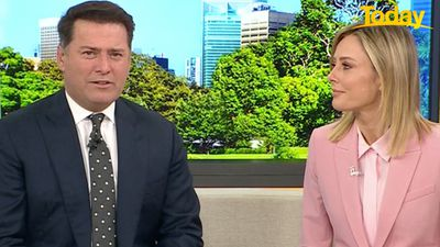 Today hosts get 'hot pollie' treatment