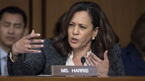 California Senator Kamala Harris. (AAP)
