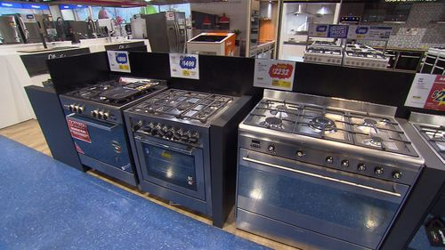 White goods, homewares and electronics are tipped to be this year's big savings. Picture: 9NEWS.