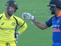 Wade and Kohli in war of words