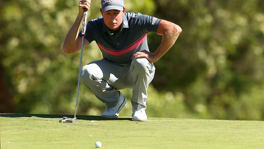 Brett Rumford is the man to beat in Perth. (Getty Images)