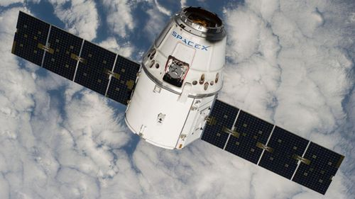 SpaceX's Dragon spacecraft. (Twitter @SpaceX)