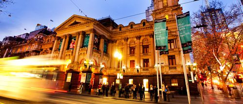 Is Melbourne Town Hall ready for the likes of Sam Newman to take on the top job? (City of Melbourne)