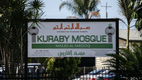 A teenager was harassed outside Kuraby mosque. Picture: AAP