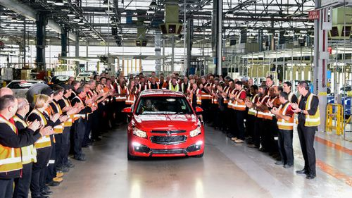 Redundant Adelaide Holden workers offered positions in Victoria
