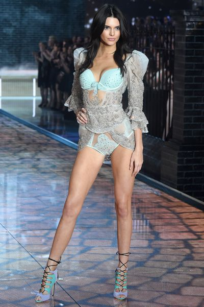 Kendall Jenner at the 2015 Victoria's Secret Show