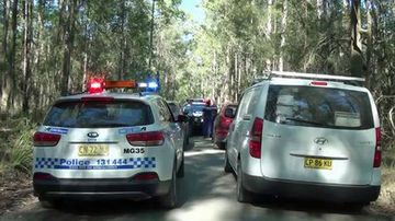 Police have blocked off access roads inside the Yarratt State forest while the investigation is underway.