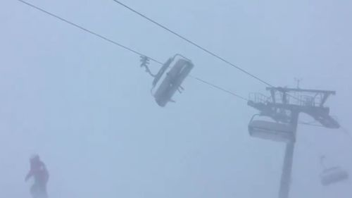 The chairlift manufacturer insisted the danger was low. (Facebook)