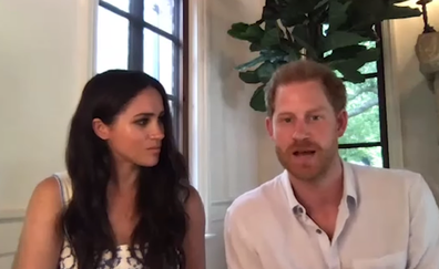 Prince Harry spoke about continuing his grandmother's work.