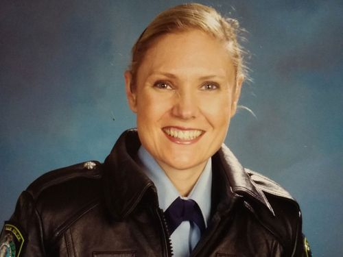NSW Police Senior Constable Kelly Foster drowned trying to save another woman while canyoning in the Blue Mountains.