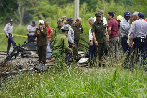 A Cuban military plane crashed into a hillside in the western province of Artemisa in April 2017, killing eight troops on board.
