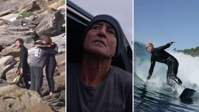 'Iconic' local surfer dragged from water before death