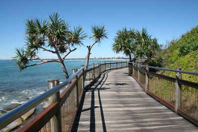 Caloundra Headland Memorial Walkway, Sunshine Coast, Queensland