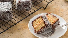 Thermomix gluten free lamingtons
