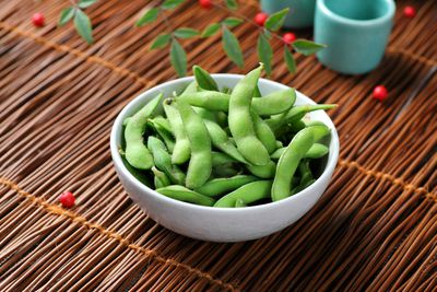 <strong>Edamame beans (122 calories per serve)</strong>