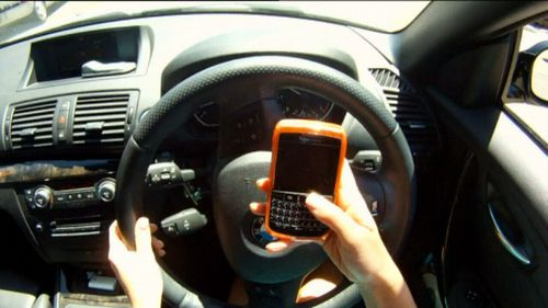 Across Australia, using a phone with your hands while driving is against the law.