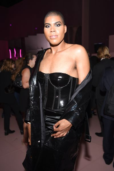 EJ Johnson at the 'F**cking Fabulous' party at New York Fashion Week, September 2017