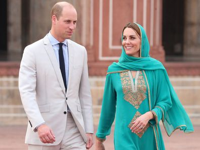 The Duke and Duchess of Cambridge in Pakistan