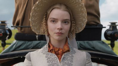Anya Taylor-Joy as Emma Woodhouse in 2020 movie adaptation of Jane Austen's Emma