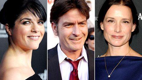 Selma Blair is Charlie Sheen's therapist in Anger Management
