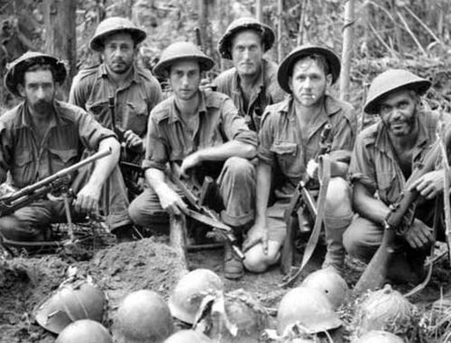 Australian soldiers in Papua faced a brave and ruthless enemy in the Japanese army.