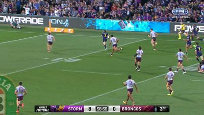 NRL Finals: Melbourne Storm advance to 217 NRL grand final with Brisbane Broncos rout