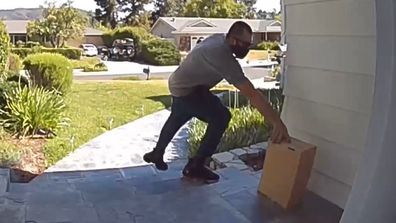 Jackass star Chris Pontius, runs after porch pirate, stole wife's package