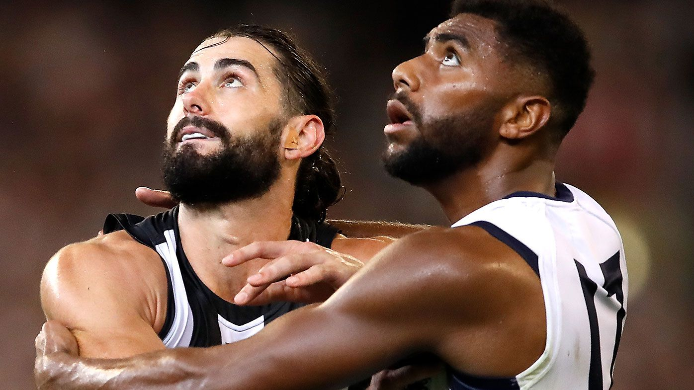 Brodie Grundy prepared to sign new seven-year contract with Collingwood if it is offered