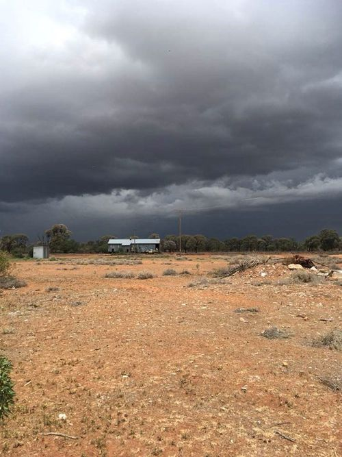 Heavy rain has battered large parts of NSW with some outback areas breaking two-decade-old records for the biggest October deluge.