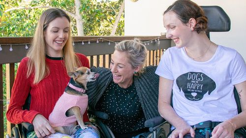 Queensland sisters with rare degenerative disease face grave new threat
