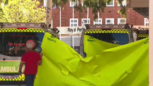 Two 16-year-old girls who were also in the car were rushed to Royal Perth Hospital with serious injuries.