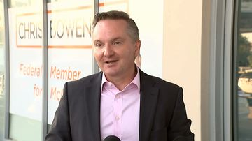Chris Bowen withdraws from Labor leadership race.