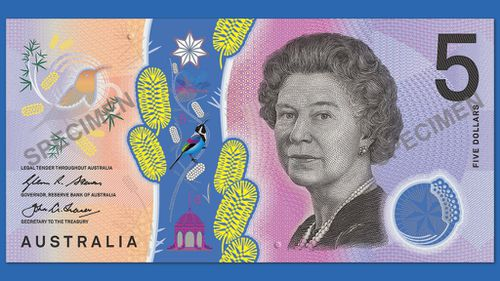 New Australian $5 note will feature braille to help the visually impaired