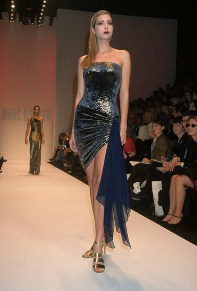 Ivanka Trump, Marc Bouwer autumn/winter '98, New York Fashion Week