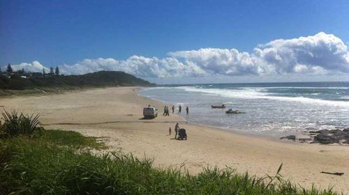 A 41-year-old Japanese man has died after being attacked by a shark near Shelly Beach, Ballina. (Supplied)