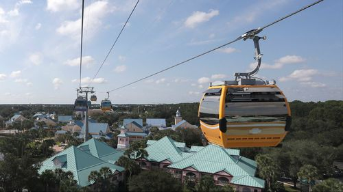 Passengers stranded mid-air after Disney gondola breaks down