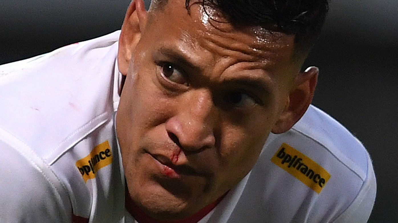 Israel Folau's homophobic stance hasn't changed, so neither should his NRL ban