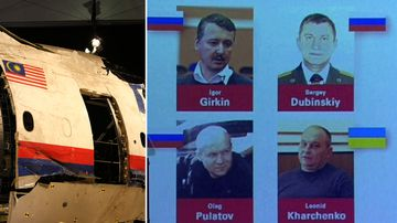 Manhunt underway for four men over downing of MH17