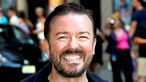 """Ricky Gervais apologises for saying """"mong"""" on Twitter"""
