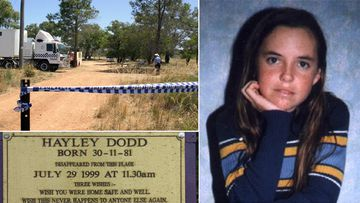 Hayley Dodd, 17, disappeared in July 1999 as she walked down a country road in WA. (AAP)