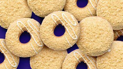 Krispy Kreme Caramilk doughnuts