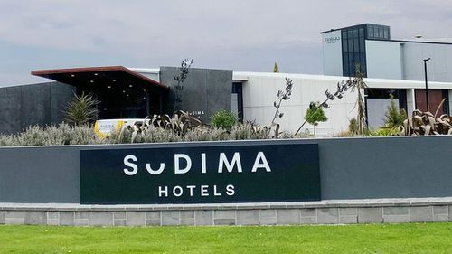 The Sudima Hotel in Christchurch is the location where foreign workers are quarantining.