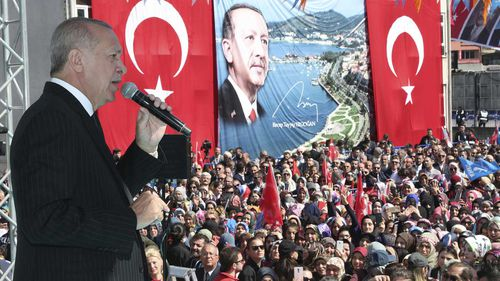 Turkish President Recep Tayyip Erdogan invoked Gallipoli after the Christchurch attack.