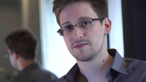 US privacy activist Edward Snowden. (AAP)