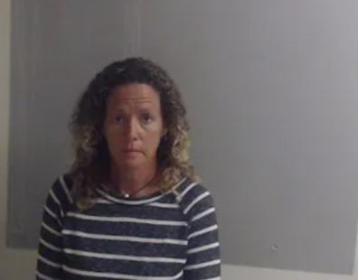 Laura Rose Carroll's mugshot which has been published widely in the US media.