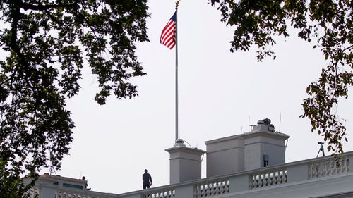 Flags have returned to full-staff at the White House following the death of John McCain.