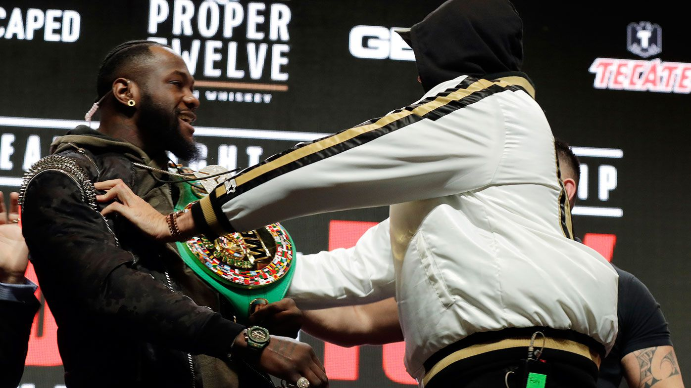 'Shock', 'frustration' as Nevada bans Deontay Wilder and Tyson Fury weigh-in face-off
