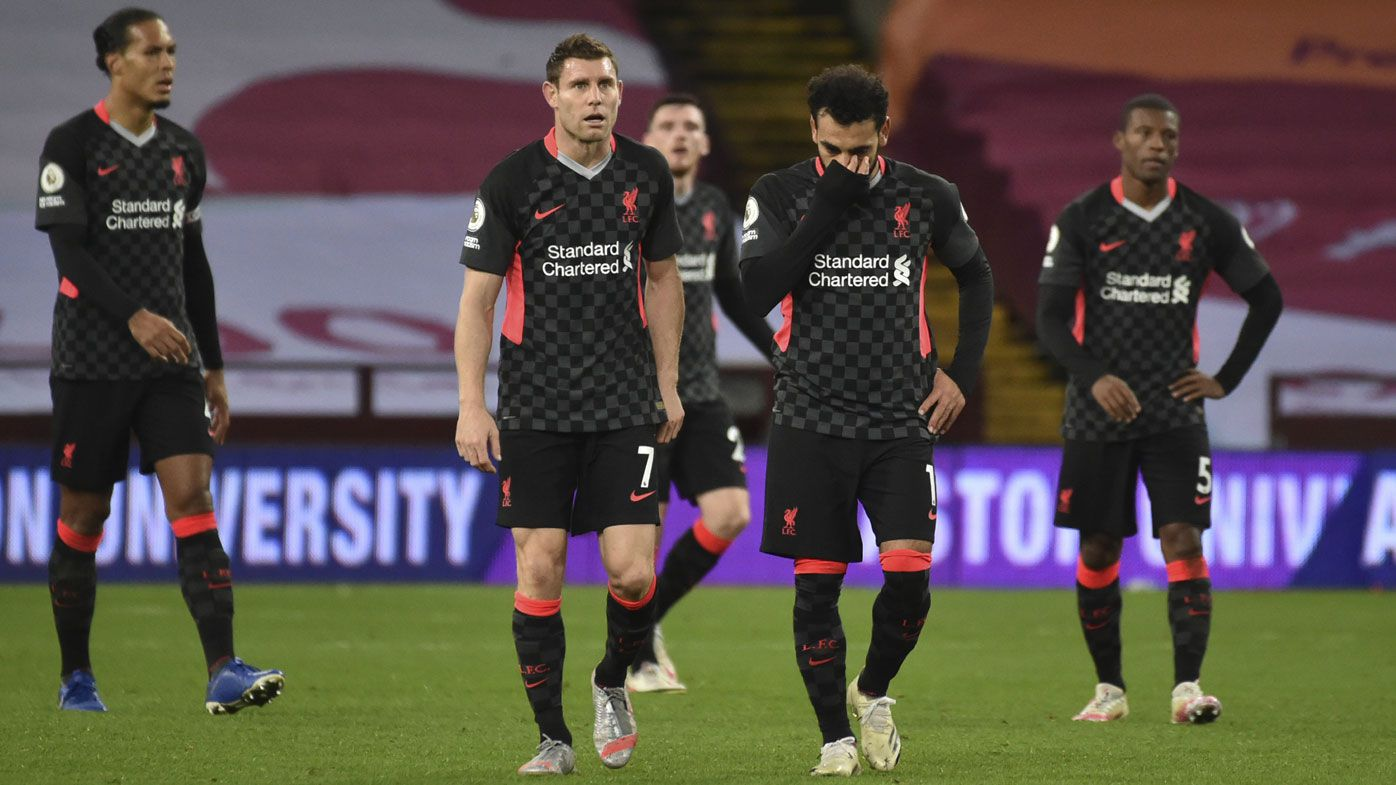 EPL stunners as Liverpool lose 7-2 to Aston Villa, Manchester United 6-1 to Spurs